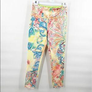 Paisley Yoga leggings pants S